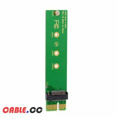 CY PCI-Express 3.0 1x x1 Vertical Adapter to NGFF M-key NVME AHCI SSD for SSD