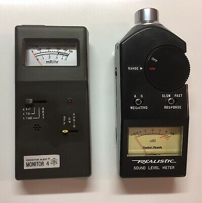 Ghostbusters Radiation Monitor And Sound Level Meter Props Lot
