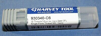 Harvey Tool Thread Mill 24 to 36 TPI, Internal/External Single Profile