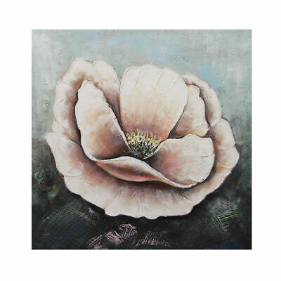 Hand Painted Canvas Oil Painting Framed Modern Art Wall Home Decor Poppy Flowers
