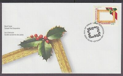Canada 2000 Fdc 1872 Christmas Picture Postage, Christmas Picture Frame