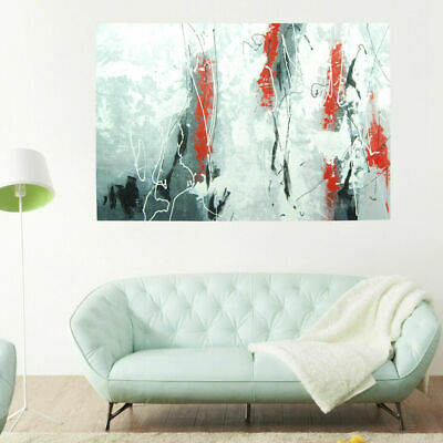 Modern Wall Art Home Decor Framed Canvas Oil Painting Hand Painted - Rebirth