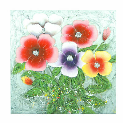 Hand Painted Oil Painting Framed Canvas Modern Art Wall Home Decor Morning Glory