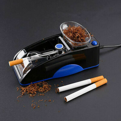 Cigarette Rolling Machine Electric Automatic Injector Maker Tobacco Roller Red