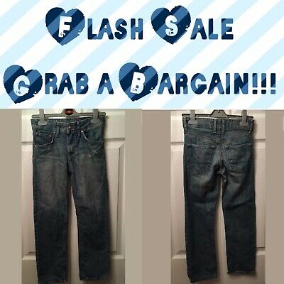 Flash Sale!!! H&M Boy's Blue Denim Relaxed Fit Jeans Age 7-8