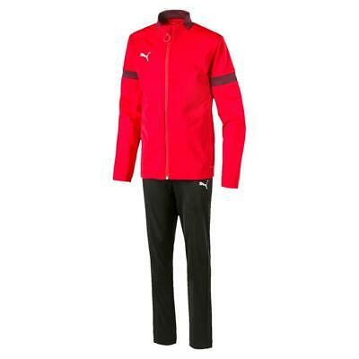 PUMA MENS TRACKSUIT RED and BLACK