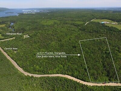 7.75 ACRES - Land For Sale in CAPE BRETON, Nova Scotia - Canada