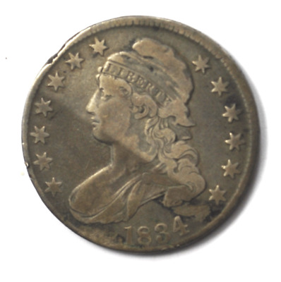 1834 50c Capped Bust Silver Half Dollar Fifty Cents