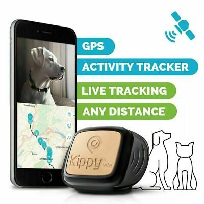 Realtime Tracking Pet GPS Tracker Waterproof LED Smart Locator Dog Cat Anti-lost