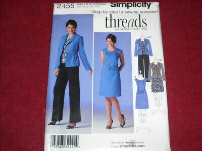 SIMPLICITY #8241 LADIES TUNIC-TOP-SKIRT-SHORTS /& PANTS PATTERN 6-10 or 12-16 FF