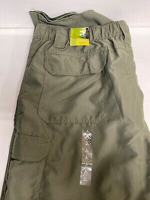 Official BSA Boy Scouts of America Relaxed Fit Switchbacks Pants Men's Large