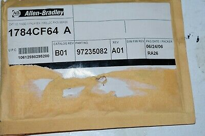 1784Cf64 Allen-Bradley Compact Flash Card, 64 Mb, For Use W/ Controllogix 5560