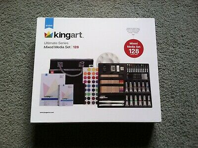 Kingart Mixed Media Set 128