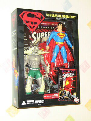 Dc Direct Death Of Superman Vs Doomsday Action Figure Collector