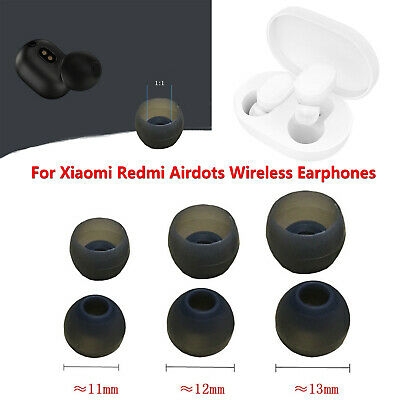 S/M/L Silicone Ear Tips Buds Cover Pour Xiaomi Redmi Airdots Wireless Écouteurs