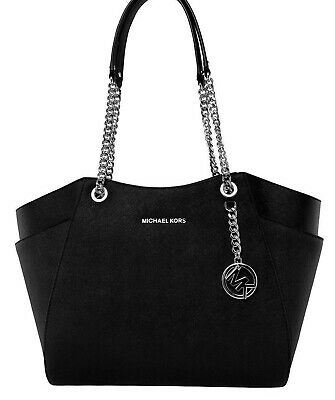 MICHAEL KORS TASCHEBAG JET SET TRAVEL LG CHAIN TOTE Leder