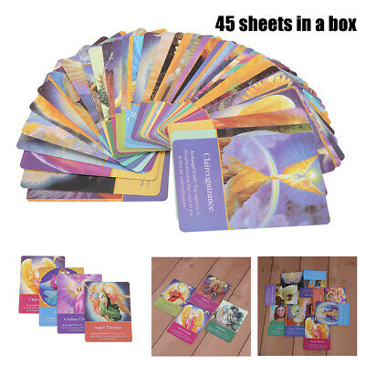 45pcs Archangel Oracle Cards Fans Gift Angel Oracle Card orad Game