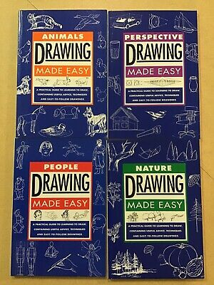 Drawing Made Easy Bundle by Murdoch Books - Animals, People, Perspective, Nature
