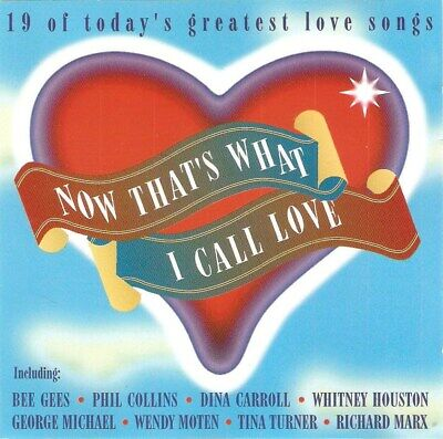 Various - Now That's What I Call Love (CD 1994) Eternal; Nilsson; Collins; Marx