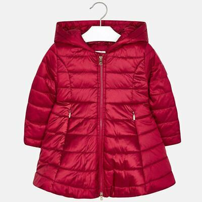 Mayoral Girls Red Padded Coat SIZES 2year,3year,4year & 9years  4416-36