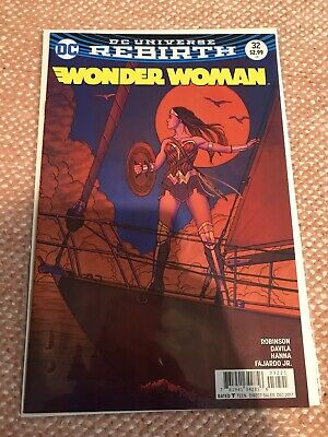 Wonder Woman #71B Frison Variant VF 2019 Stock Image