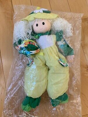 Vintage Little Treasures Citrus Blossoms Artisan Doll by Joelson Industries