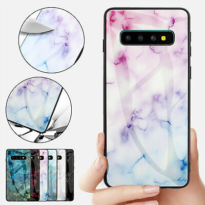 iPhone 11 Pro Max XS Max XR 8 7 plus Shockproof Glass Marble Soft Cover fr Apple
