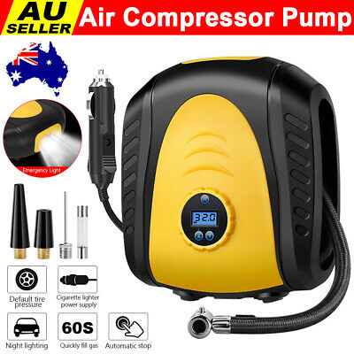 Car Tyre Inflator Air Pump 12V Compressor Tire Auto Bicycle Portable 150PSI NEW