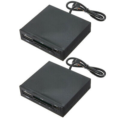 """USB 2.0 Hub for Floppy JH 3.5/"""" All-in-One Internal Flash Memory Card Reader"""