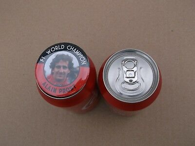 ALAIN PROST  F1 WORLD CHAMPION MAGNET  55mm  IN SIZE