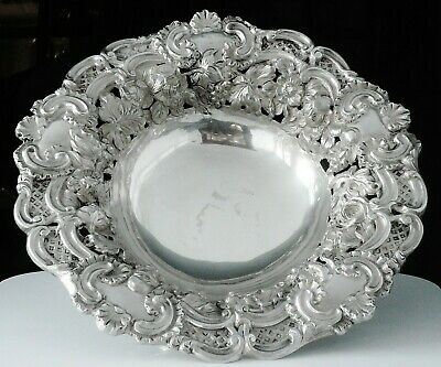 Antique Silver Large Bowl, Sheffield 1833, Henry Wilkinson & Co