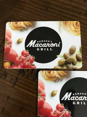 Macaroni Grill Gift Cards $50 for $45