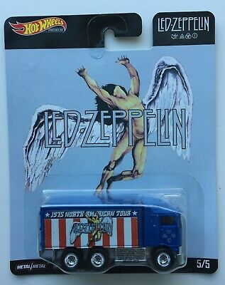 2019 / 2020 Hot Wheels Pop Culture Led Zeppelin Hiway Hauler 5/5 ~ Free Ship!