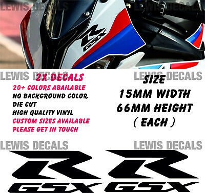 Suzuki GSXR Replacement Decal Stickers Belly Pan Fairings Panniers Helmet