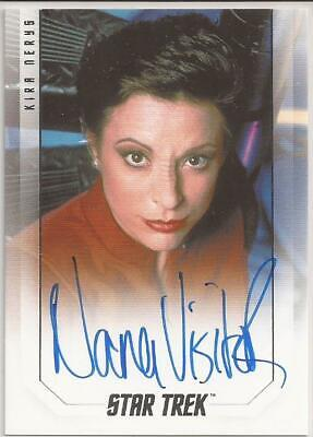 Nana Visitor as Kira Nerys Bridge Crew Autograph Card - Star Trek Inflexions