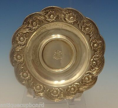 Chrysanthemum by Tiffany & Co. Sterling Silver Demitasse Saucer (#0349)