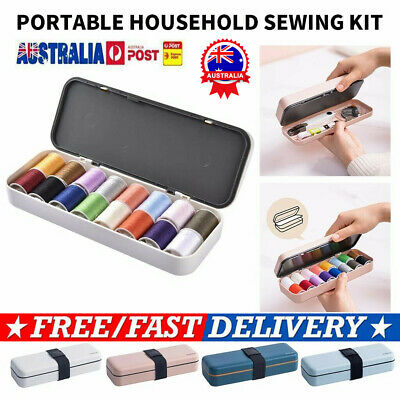Sewing Kit Multifunctional Portable Sewing Threads Kit for Home Travel AU %N