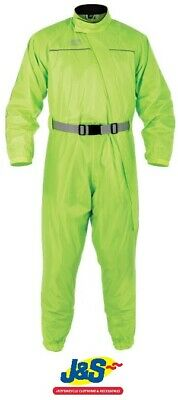 Oxford Products Rainseal Waterproof Oversuit 1 piece Motorcycle Neon Yellow J&S