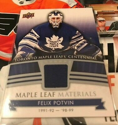 2017 Ud Toronto Maple Leafs Centennial Maple Leaf Materials-U Pick From List