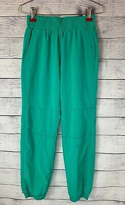 Athleta Girl Lined Jogger Pants Girl's Size 8-10 M Green Athletic Sweatpants