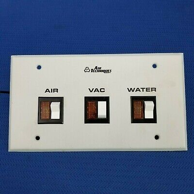Air Techniques Air, Vac, and Water Control Switch Panel
