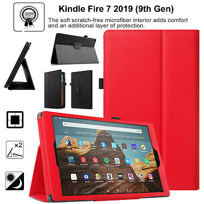 Smart in pelle a Libretto Magnetica Supporto Custodia Cover per Amazon Fire HD 8