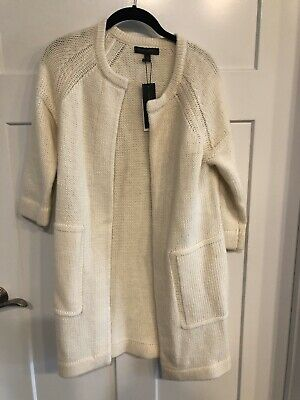 BANANA REPUBLIC 492350 Italian Wool Duster Long Sweater