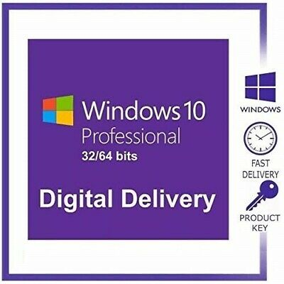 💥Windows 10 Pro Multi language 3264 Bits License Key Glogal 💥Fast Delivery💥