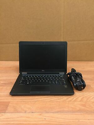 Dell Latitude E7250 Laptop i7 5600U 2.60Ghz 5Th Gen 4Gb No HDD Free Shipping