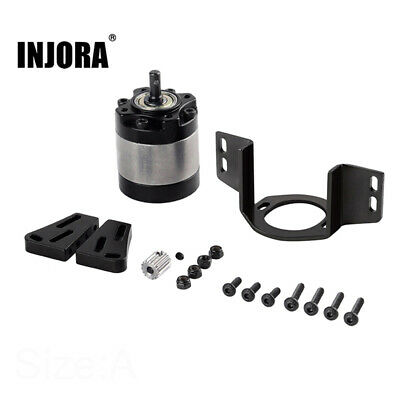 Rc Metal Gearbox 1//5 Planetary Gear Box for 1//10 RC Crawler D90 D110 Axial L/&6