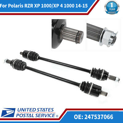 Complete Front Left//Right CV Joint Axle for Polaris RZR XP 1000 //XP 4 1000 14-15