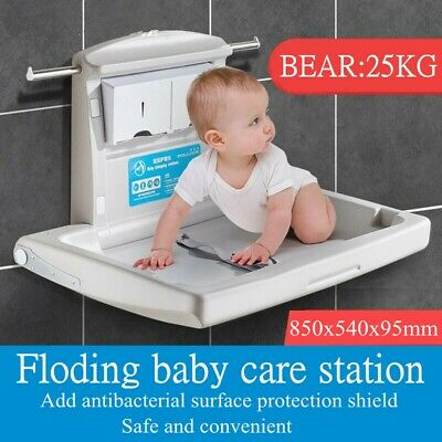Baby Change Table Restroom Wall Mounted AU