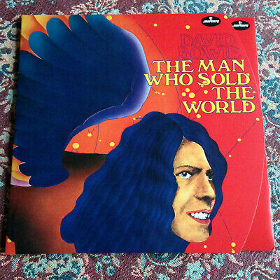 David Bowie - The Man Who Sold The World - Mercury Red Vinyl Lp + Fold-Out Cover