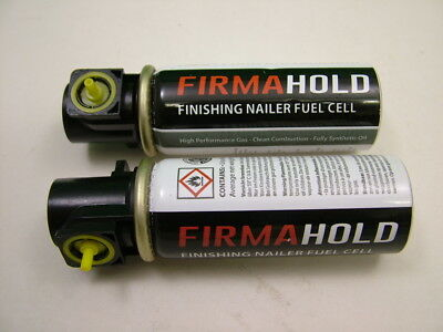 2nd fix gas cartridges fuel cells for nail guns, pack of 2, Firmahold brand